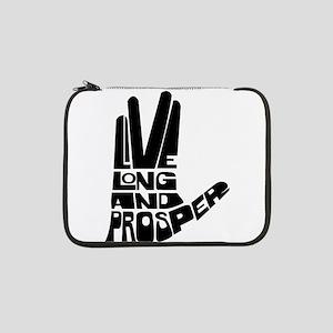 "live long and prosper 13"" Laptop Sleeve"