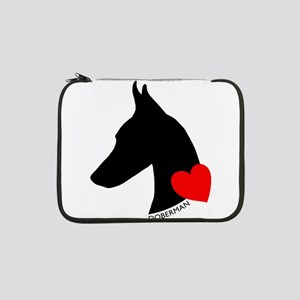 "heartsilhouette 13"" Laptop Sleeve"