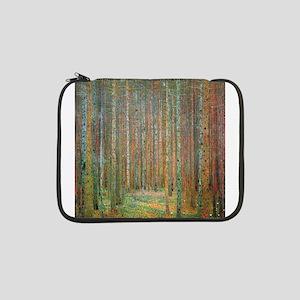 """Gustav Klimt Pine Forest 13"""" Laptop Sleeve"""
