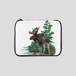 "Bull moose art 13"" Laptop Sleeve"