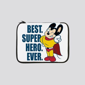 "Best. Super Hero. Ever. 13"" Laptop Sleeve"