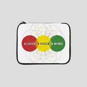 "NEW-One-Love-voice-mind9 13"" Laptop Sleeve"