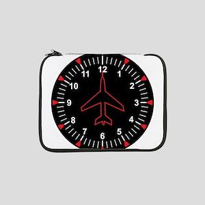"Heading Indicator Clock 13"" Laptop Sleeve"
