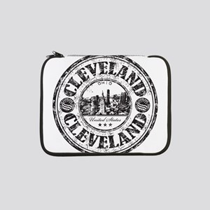 "Cleveland Stamp 13"" Laptop Sleeve"
