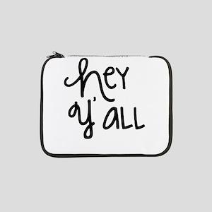 "Hey Yall-01 13"" Laptop Sleeve"