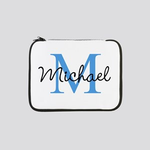 """Personalize Iniital, and name 13"""" Laptop Sleeve"""