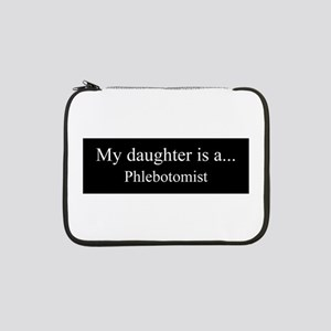 "Daughter - Phlebotomist 13"" Laptop Sleeve"