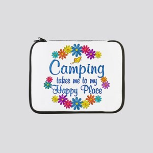"Camping Happy Place 13"" Laptop Sleeve"