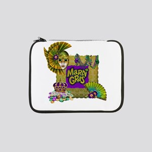 "Mardi Gras 13"" Laptop Sleeve"