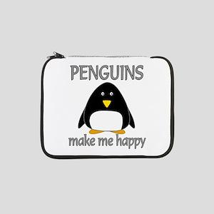"""Penguin Happy 13"""" Laptop Sleeve"""