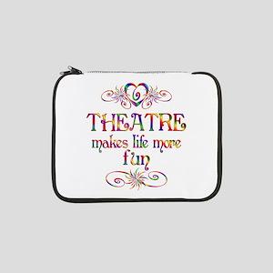 "Theatre More Fun 13"" Laptop Sleeve"