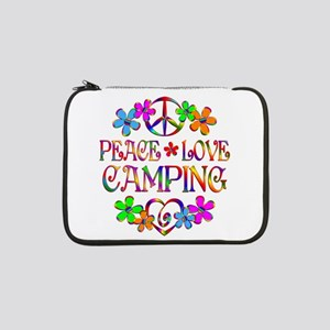 "Peace Love Camping 13"" Laptop Sleeve"
