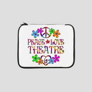 "Peace Love Theatre 13"" Laptop Sleeve"
