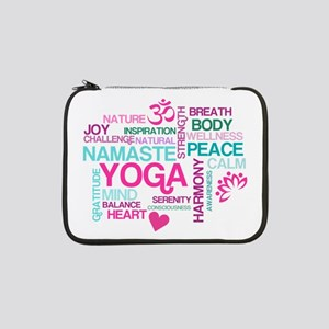 "Yoga Inspirations 13"" Laptop Sleeve"