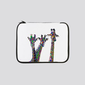 "Giraffes in New Pajamas 13"" Laptop Sleeve"