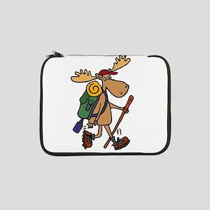 "Moose Hiking 13"" Laptop Sleeve"