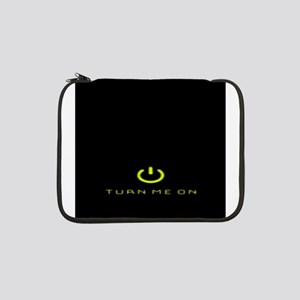 "Turn Me On Yellow 13"" Laptop Sleeve"
