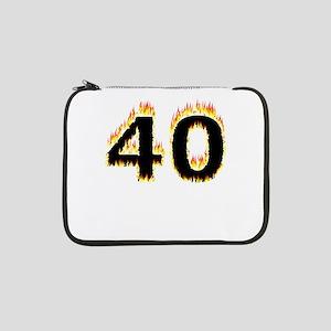 "40 (Flames) 13"" Laptop Sleeve"
