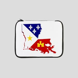 "Acadiana State of Louisiana 13"" Laptop Sleeve"