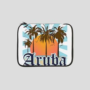 """Aruba Caribbean Island 13"""" Laptop Sleeve"""
