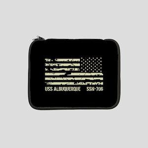 """USS Albuquerque 13"""" Laptop Sleeve"""