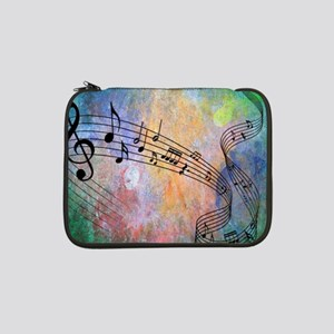 """Abstract Music 13"""" Laptop Sleeve"""