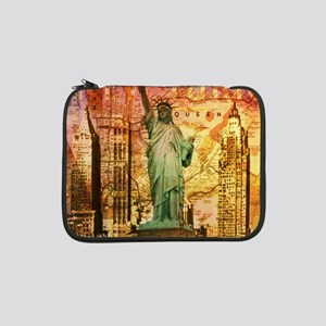 "cool statue of liberty 13"" Laptop Sleeve"