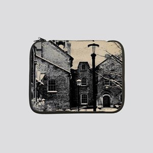 "vintage church street light 13"" Laptop Sleeve"