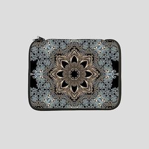 "bohemian floral metallic mandala 13"" Laptop Sleeve"