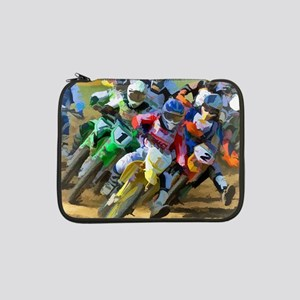"Motocross 13"" Laptop Sleeve"