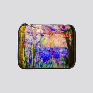 """Nature In Stained Glass 13"""" Laptop Sleeve"""
