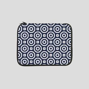 "blue vintage Japanese 13"" Laptop Sleeve"