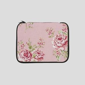 "elegant colorful roses vintage f 13"" Laptop Sleeve"