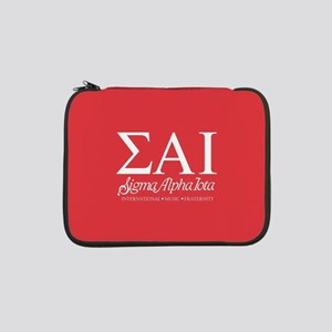 "Sigma Alpha Iota Letters 13"" Laptop Sleeve"