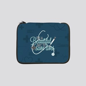 """It's A Beautiful Day To Save Liv 13"""" Laptop Sleeve"""