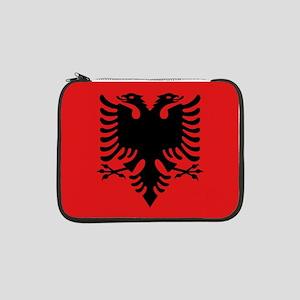 "Flag of Albania 13"" Laptop Sleeve"