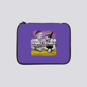 """I Love Lucy: Double Trouble 13"""" Laptop Sleeve"""