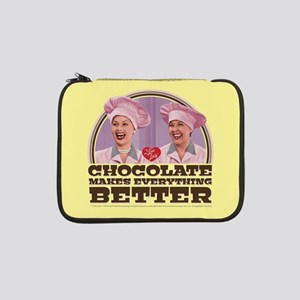 """I Love Lucy: Chocolate Makes Eve 13"""" Laptop Sleeve"""
