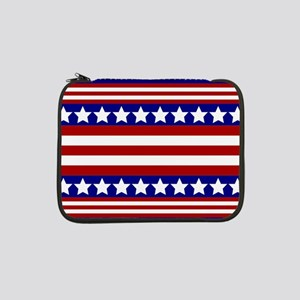 """Stars and Stripes 13"""" Laptop Sleeve"""