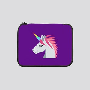 "Unicorn Emoji 13"" Laptop Sleeve"