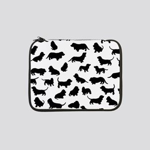 "Basset Hounds 13"" Laptop Sleeve"