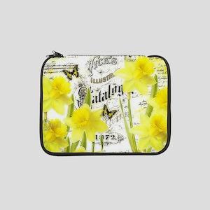 "Vintage daffodils 13"" Laptop Sleeve"