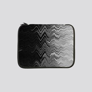 "Abstract Wave Ombre Design 13"" Laptop Sleeve"