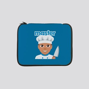 "Emoji Master Chef 13"" Laptop Sleeve"