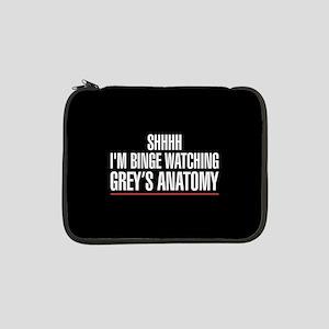 "Grey's Anatomy Binge Watching 13"" Laptop Sleeve"