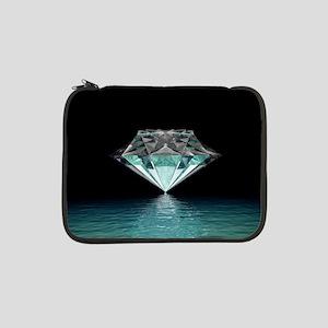 "Aqua Diamond 13"" Laptop Sleeve"