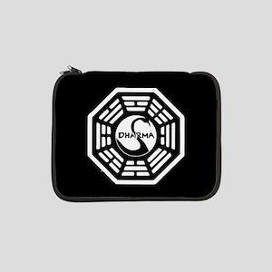 """Lost Dharma Swan 13"""" Laptop Sleeve"""