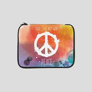 "Peace Sign 13"" Laptop Sleeve"