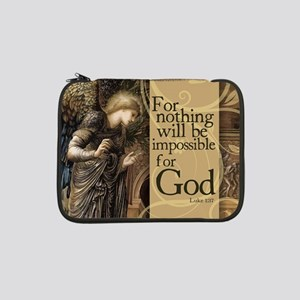 """Nothing is Impossible 13"""" Laptop Sleeve"""