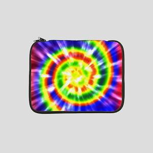 "Retro Tie Dye - Groovy Colors 13"" Laptop Sleeve"